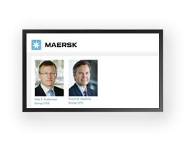 Poul Gozzi referencer tele-webcast af Mærsk Interim Report