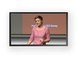 Givoanni Poul Gozzi referencer PwC's Global CEO Survey, webcast