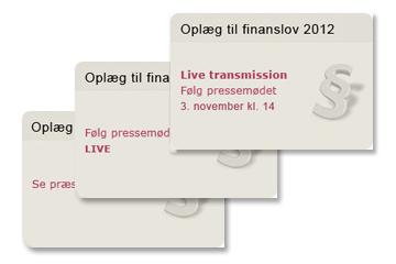 Poul Gozzi referencer Finansministeriet Forslag til finanslov 2012